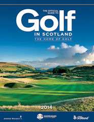 Official Guide to Golf in Scotland issue 2014