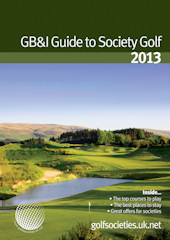 Golf Societies issue 2013